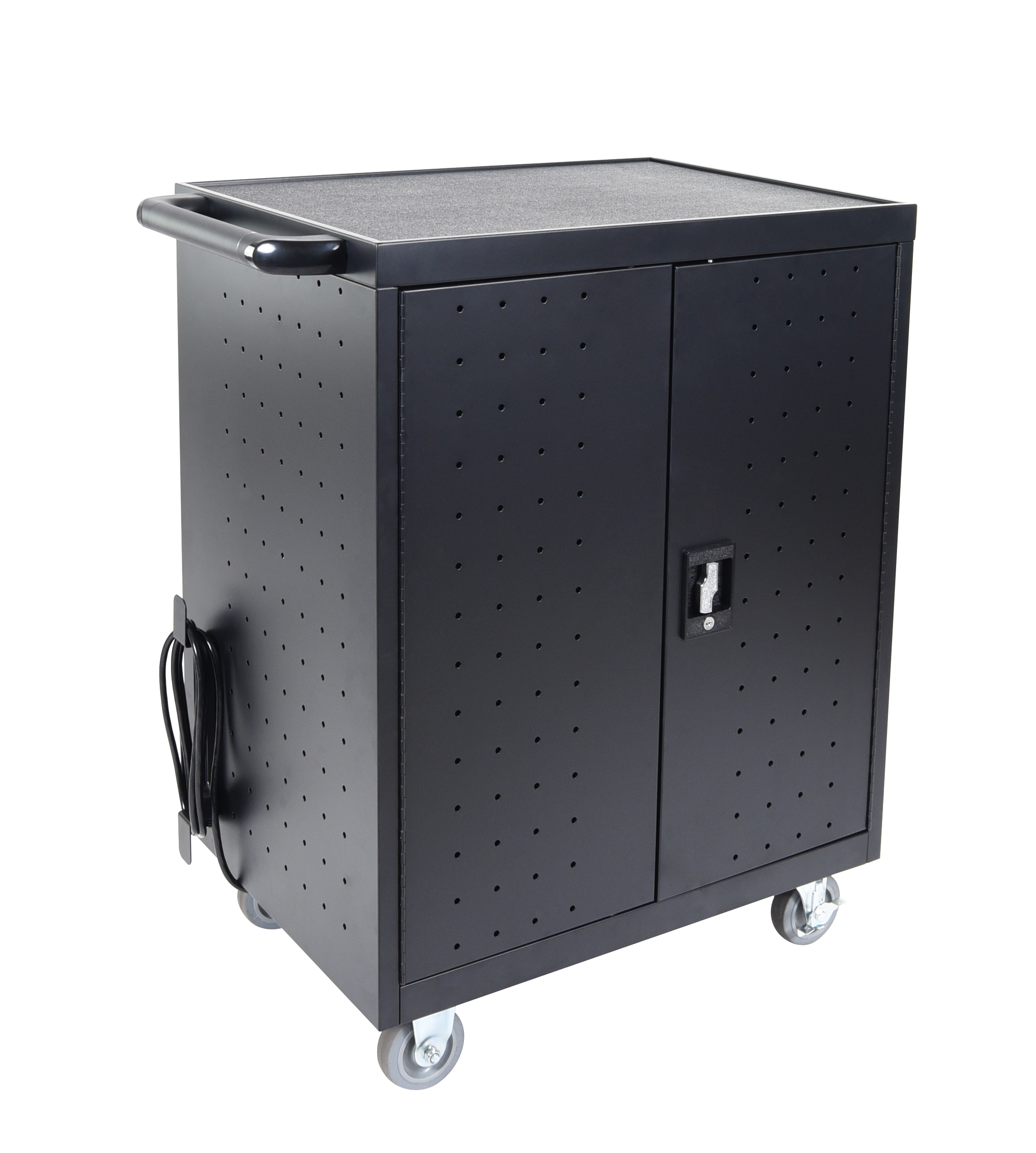 Luxor LLTP32-B 32 Laptop/Chromebook Charging Cart
