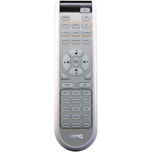 BenQ 5J.J4G06.001 Remote Control for W1100 and W1200 Projector