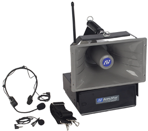 Amplivox S610A Dynamic Handheld Mic with 5ft Coil Cord