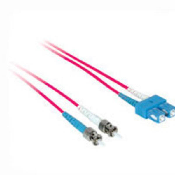 PLENUM 10M ST-ST OM2 Duplex Multimode 50//125 Fiber Optic Cable