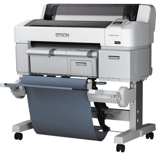 Epson SureColor T3270 Single Roll Large Format Printer 24in. w/ Stand