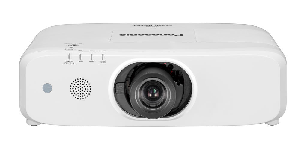 Panasonic PT-EW550LU 5000lm WXGA LCD Projector (Lens Not Included)