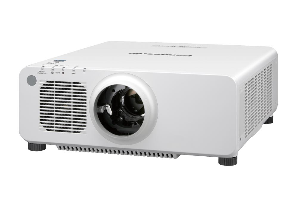 Panasonic PT-RW930LWU 10000lm WXGA DLP Laser Projector, White (No Lens)