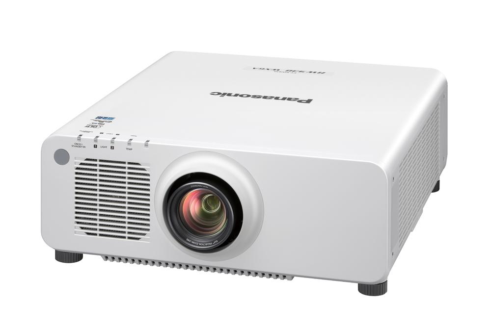 Panasonic PT-RW930WU 10000lm WXGA DLP Laser Projector, White