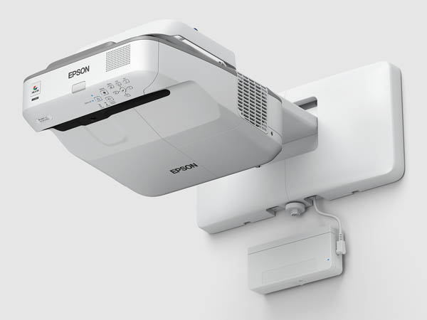 EPSON BrightLink 695Wi 3500lm WXGA Interactive UST Projector, Refurbished