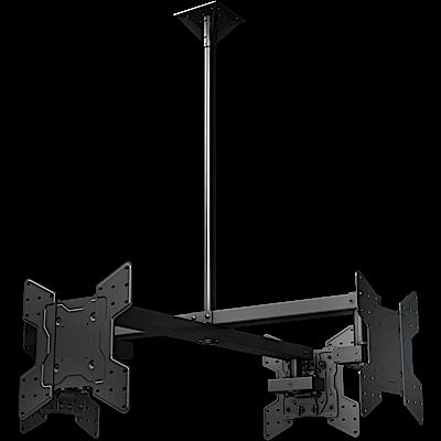 Crimson CQUAD55V Quad-Display Ceiling Mount for 32-55in+ Displays