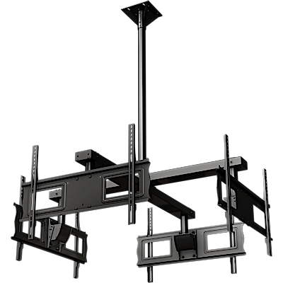 Crimson CQUAD63 Quad-Display Ceiling Mount System for 37-60in Displays
