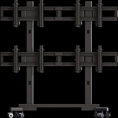 Crimson VWM263 Multi-Display 2x2 cart for 37-63in+ Displays