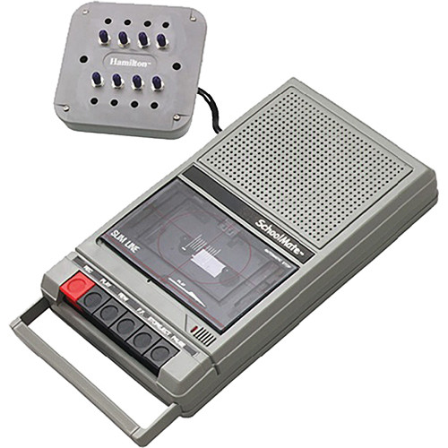 AmpliVox Sound Systems SL1039 Cassette Recorder/8-User Listening Station