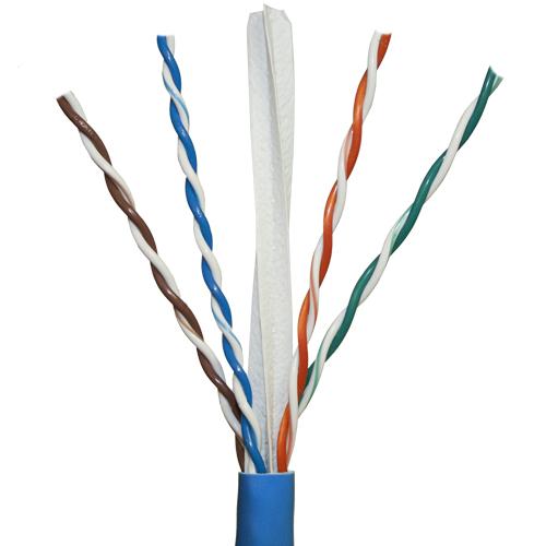 Covid P-C6-BLU-1KR Cat 6, BLUE JACKET, Plenum, 1,000' Reel
