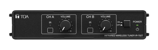 TOA IR-702T US 2-Channel Infrared Wireless Tuner