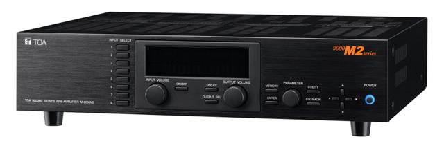 TOA M-9000M2 CU 9000M2 Series Pre-Amplifier