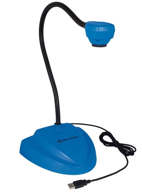 Ken-A-Vision 7880BL Vision Viewer Document Camera w/ Auto Focus (Blue)