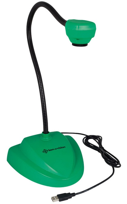 Ken-A-Vision 7880GN Vision Viewer Document Camera w/ Auto Focus (Green)
