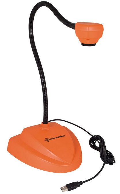 Ken-A-Vision 7880OR Vision Viewer Document Camera w/ Auto Focus (Orange)