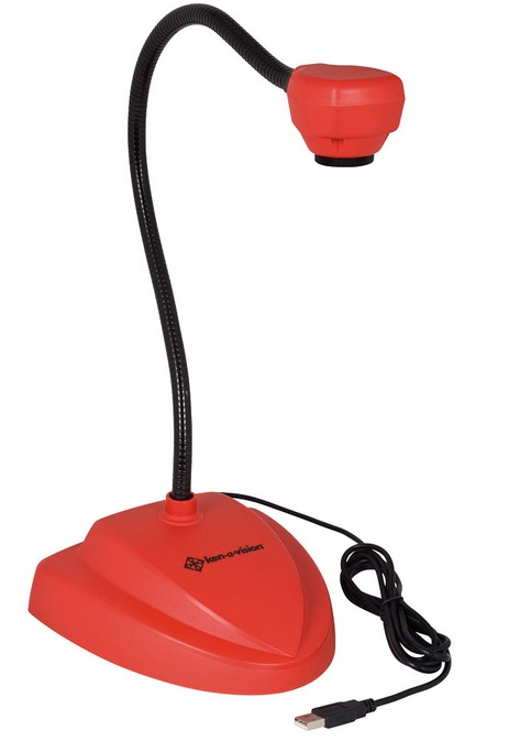 Ken-A-Vision 7880RD Vision Viewer Document Camera w/ Auto Focus (Red)
