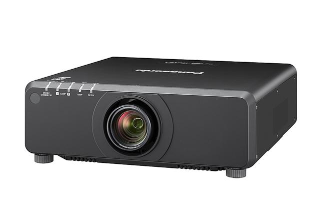 Panasonic PT-DW750BU 7000lm WXGA 1DLP Projector - Black (Standard Lens)
