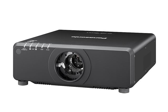 Panasonic PT-DW750LBU 7000lm WXGA 1DLP Projector - Black (Lens Not Included)