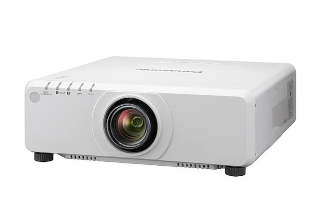 Panasonic PT-DW750WU 7000lm WXGA 1DLP Projector - White (Standard Lens)