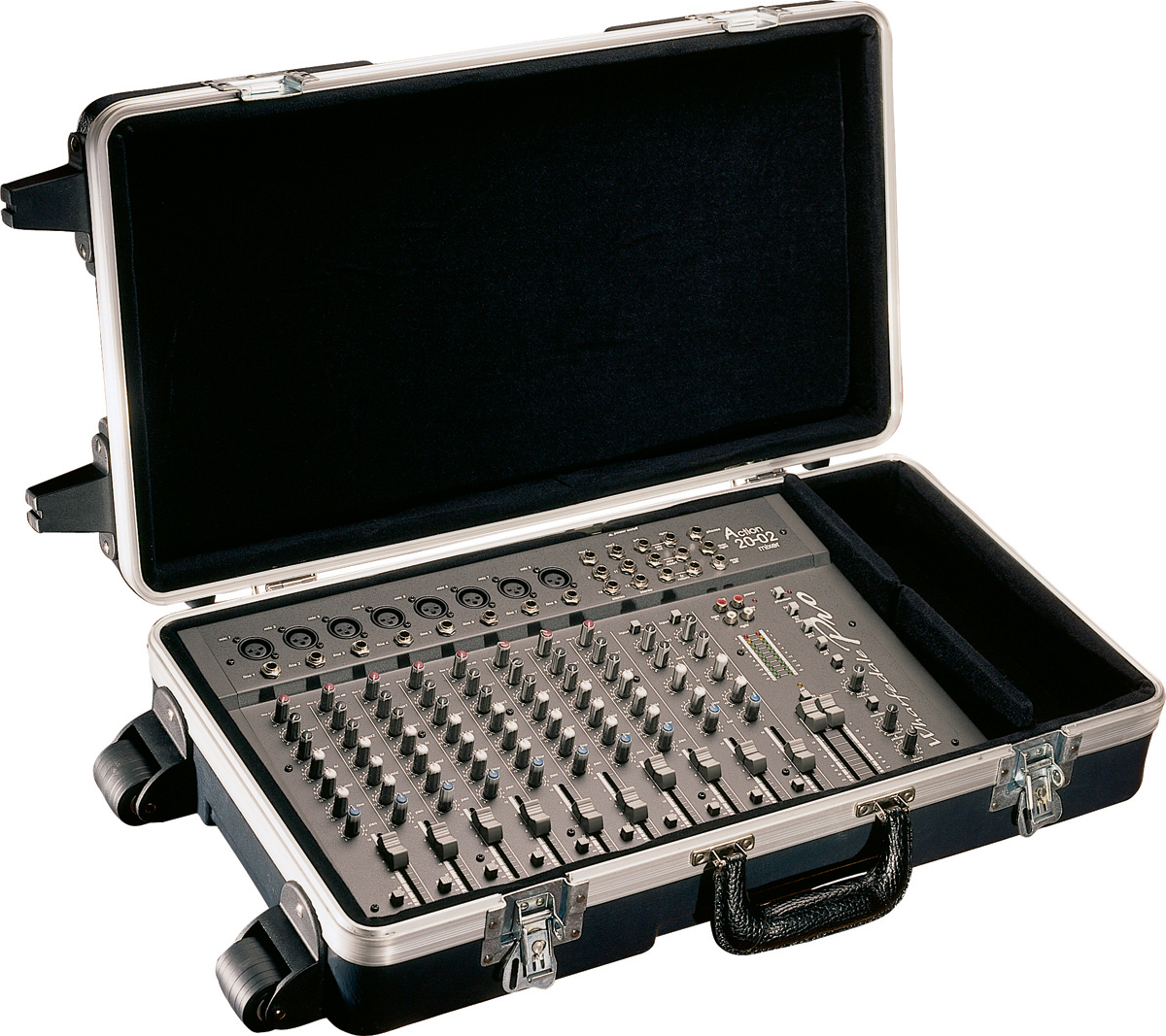 Gator G-MIX 12X24 Molded PE Mixer or Equipment Case, 12x24x4.25in; Wheels