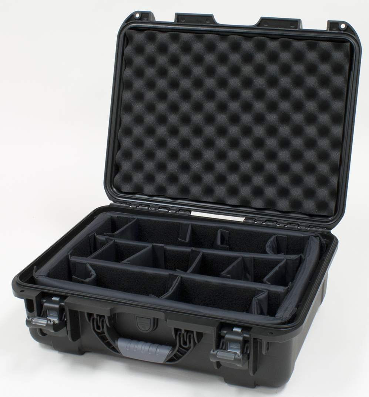Gator GU-1813-06-WPDV Waterproof Case w/ Dividers, 18 x 13 x 6.9in.