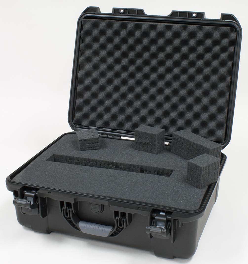Gator GU-2014-08-WPDF Waterproof Case w/ Diced Foam, 20 x 14 x 8in.