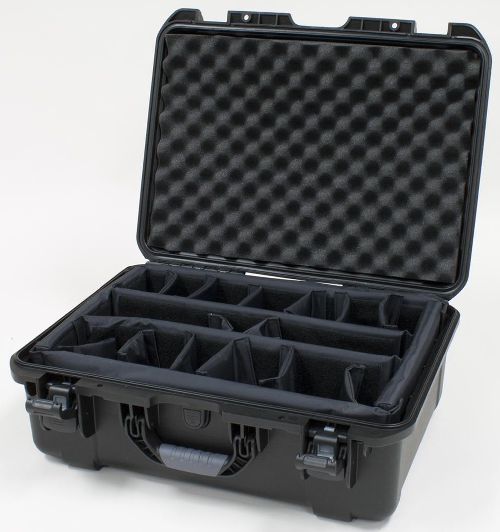 Gator GU-2014-08-WPDV Waterproof Case w/ Dividers, 20 x 14 x 8in.