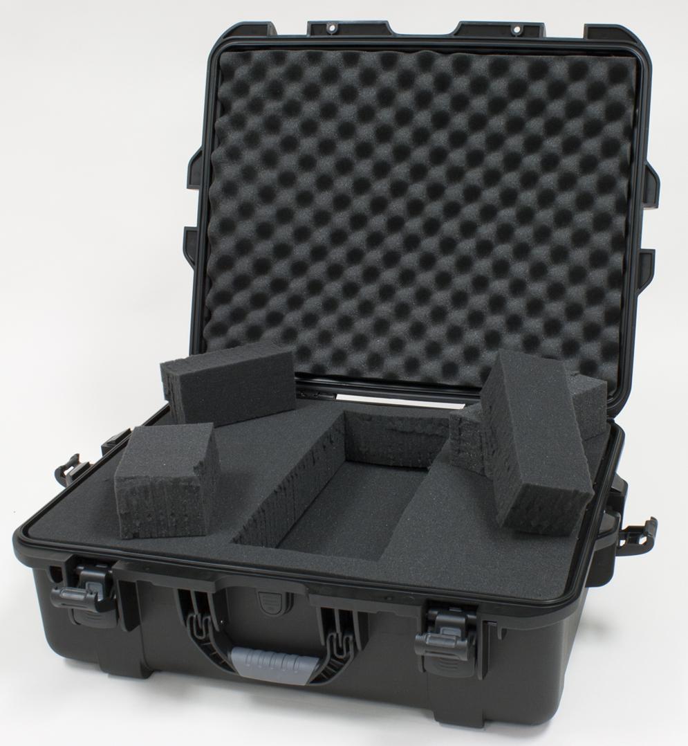 Gator GU-2217-08-WPDF Waterproof Case w/ Diced Foam, 22 x 17 x 8.2in.