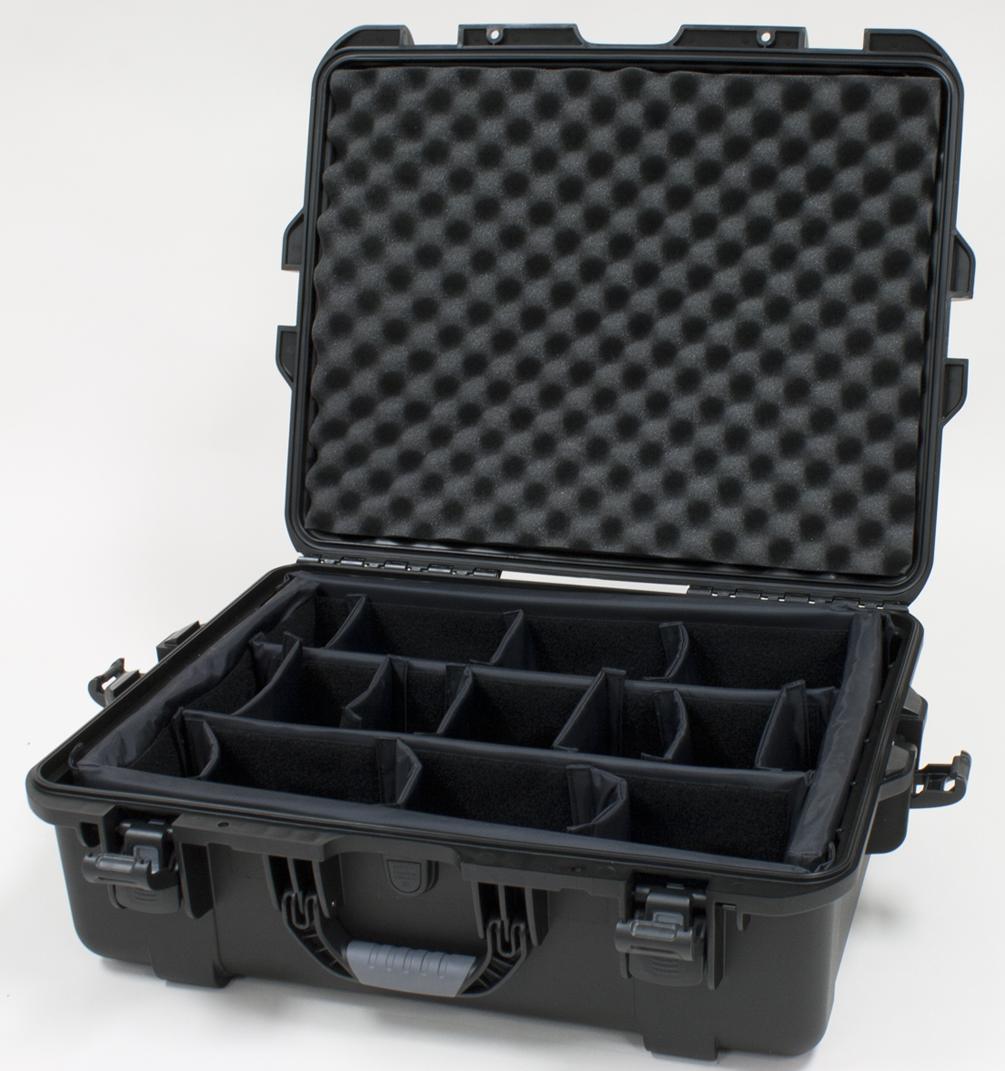 Gator GU-2217-08-WPDV Waterproof Case w/ Dividers, 22 x 17 x 8.2in.