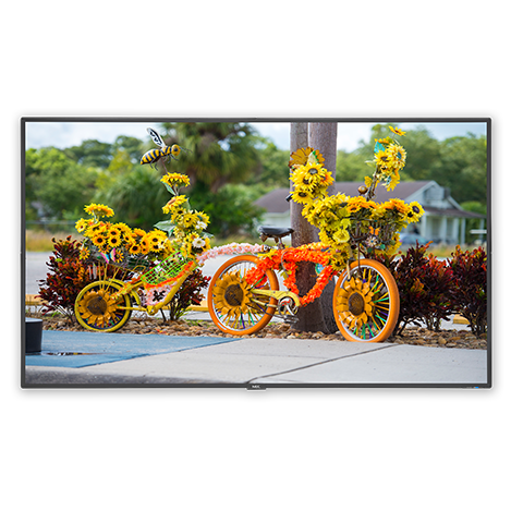 NEC C551 55in. Full HD Low-Profile Commercial Display, Refurbished