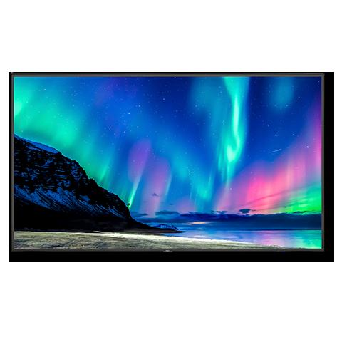 NEC C751Q-AVT2 75in. 4K Low-Profile Commercial Display w/ Tuner, Refurbished