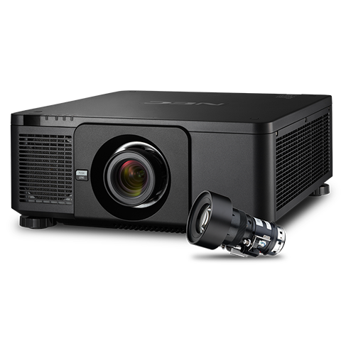 NEC NP-PX1004UL-WH 10,000lm WUXGA DLP Projector, White (No Lens), Refurbished