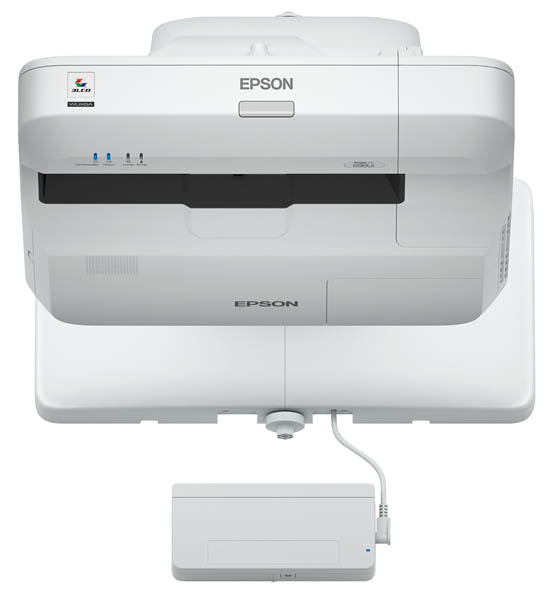 EPSON BrightLink 696Ui 3800lm WUXGA Interactive UST w/ Projector, Refurbished