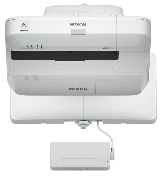 EPSON BrightLink 696Ui 3800lm WUXGA Interactive UST w/ Projector, Refurbished