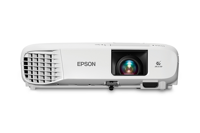 Epson PowerLite 107 3500lm XGA 3LCD Projector, Refurbished