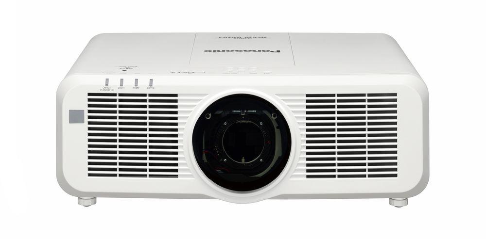 Panasonic PT-MZ770LU 8000lm WUXGA LCD Laser Projector, No Lens, White
