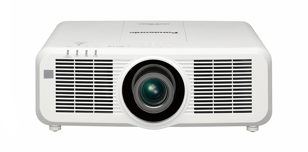 Panasonic PT-MZ770U 8000lm WUXGA LCD Laser Projector, White