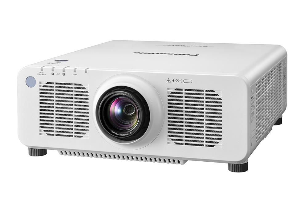 Panasonic PT-RZ120LWU 12,000lm WUXGA DLP Laser Projector, White (No Lens)