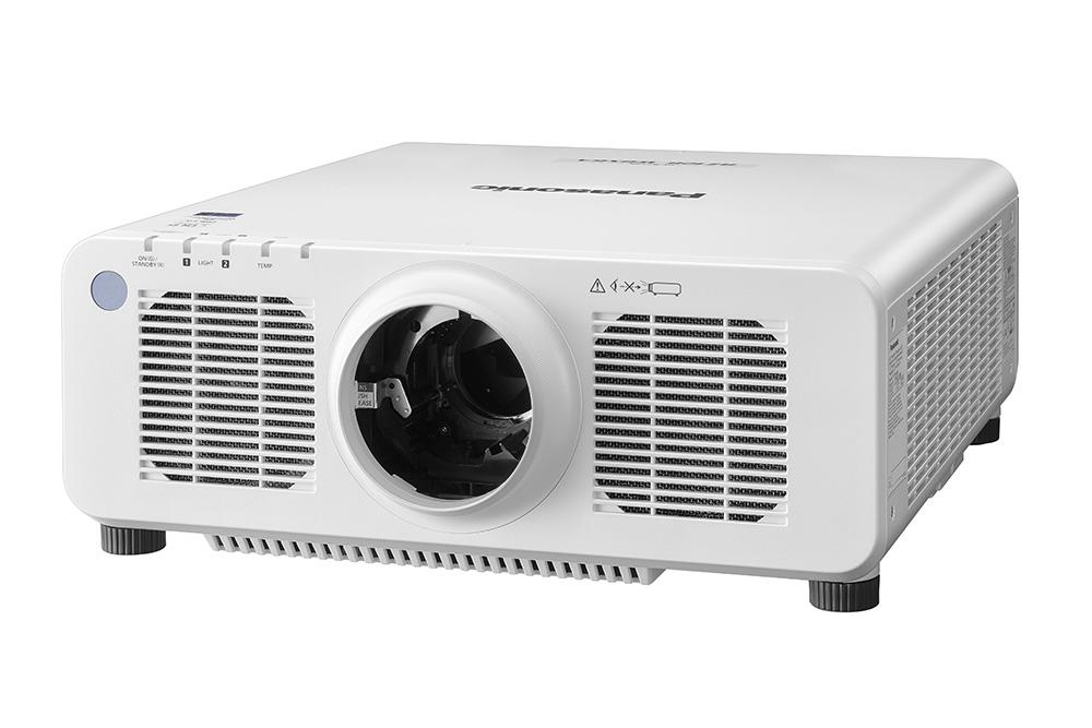 Panasonic PT-RZ120WU 12,000lm WUXGA DLP Laser Projector, White