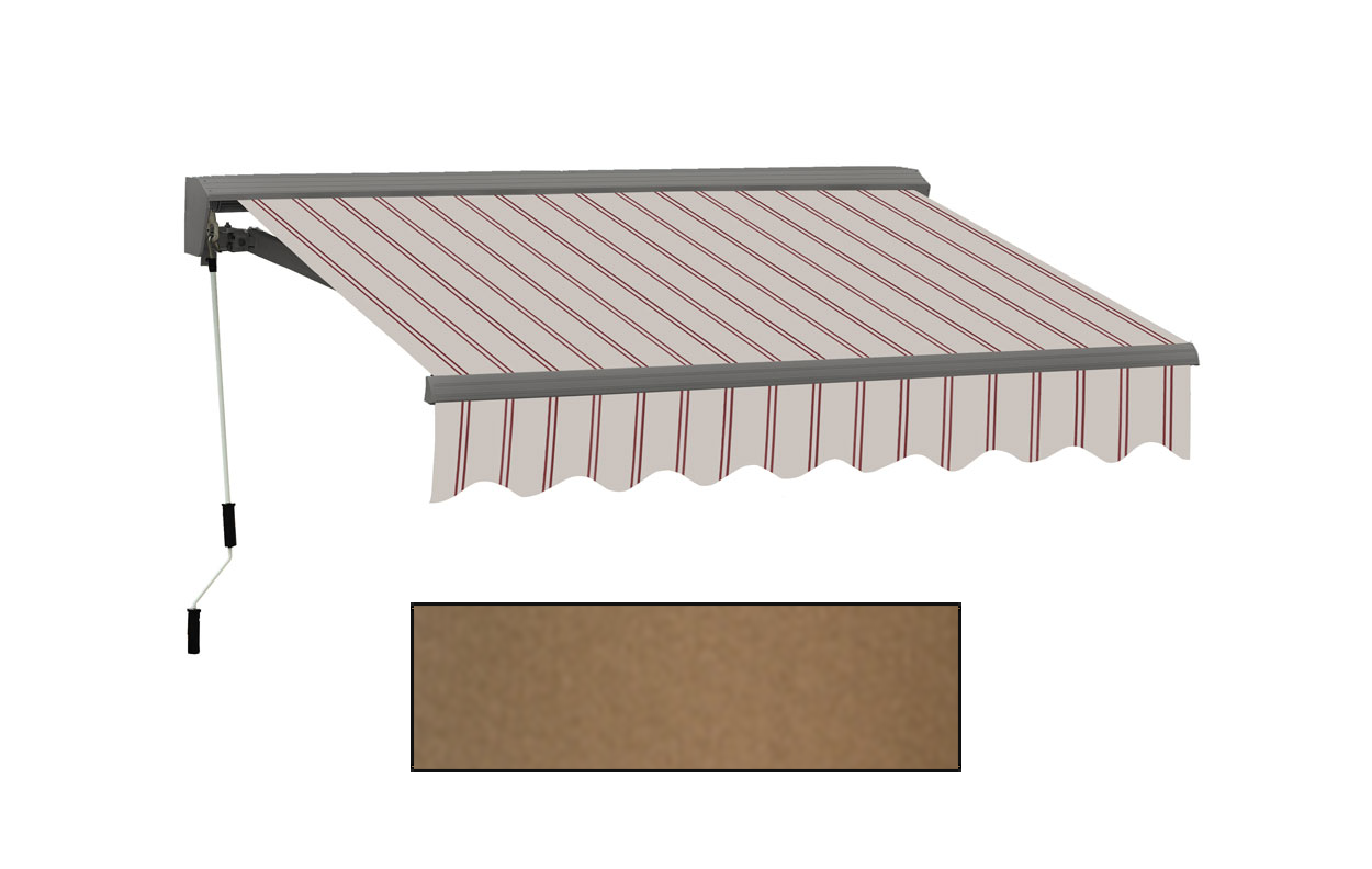 Advaning 10x8ft. C Series Electric Awning, Canvas Umber