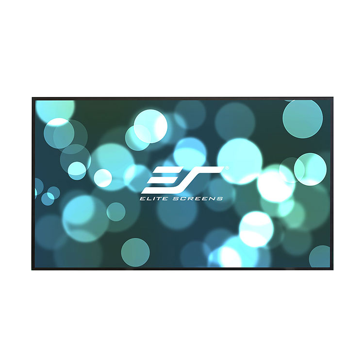 Elite AR120H2-AUHD 120in 16:9 Aeon AUHD Fixed Frame Screen, AcousticPro UHD