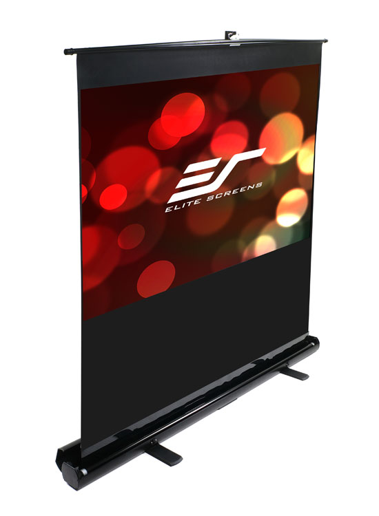 Elite F120NWH 120in 16:9 ezCinema Portable Screen, MaxWhite