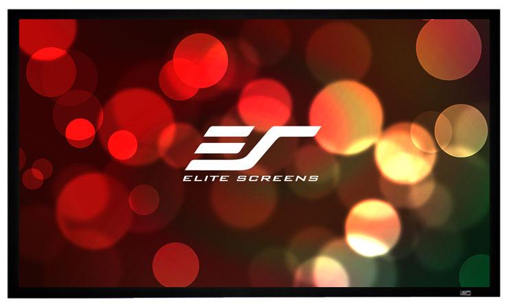 Elite R92WH1 92in 16:9 ezFrame Screen, CineWhite