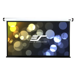 Elite HOME90IWH2 90in 16:9 Home2 Electric Screen, MaxWhite, White Case