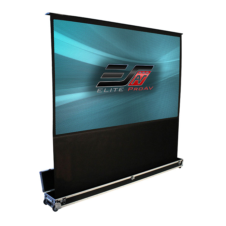 Elite FE100H-NTC 100in 16:9 Kestrel Stage NTC Electric Screen, MaxWhite
