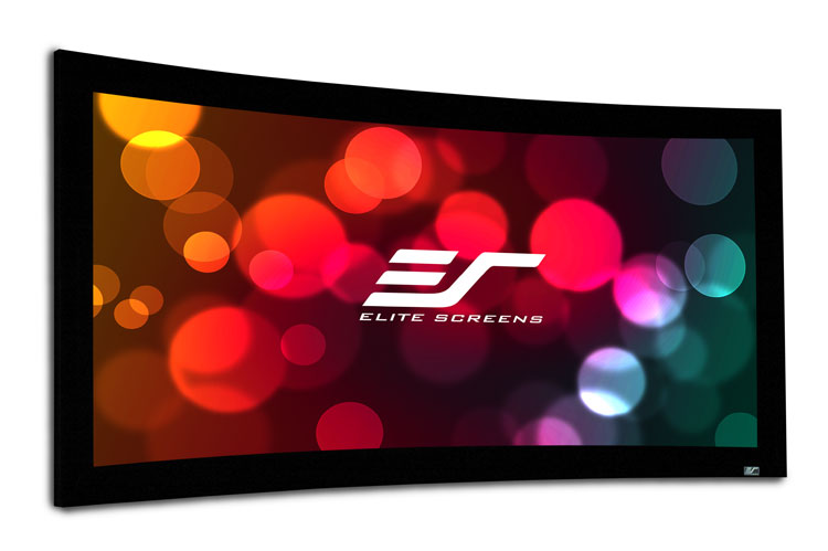 Elite CURVE100H-A1080P3 100in 16:9 Lunette Screen, AcousticPro 1080P3