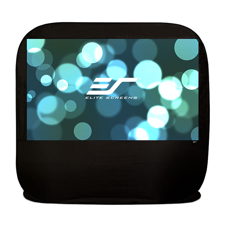 Elite POP84H 84in 16:9 Pop-up Cinema Portable Screen, SilkWhite
