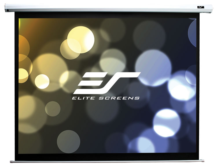 Elite ELECTRIC100H 100in 16:9 Spectrum Electric Screen, MaxWhite
