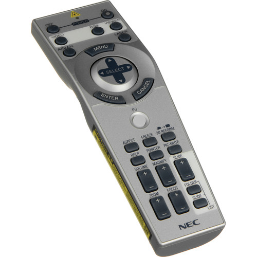 NEC RMT-PJ02 Remote Control for MT1075, MT1065 Projectors