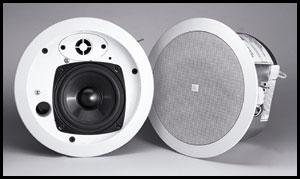 JBL C24CT MICROPLUS Control 24CTM 2-Way Ceiling Speaker, 70/100V